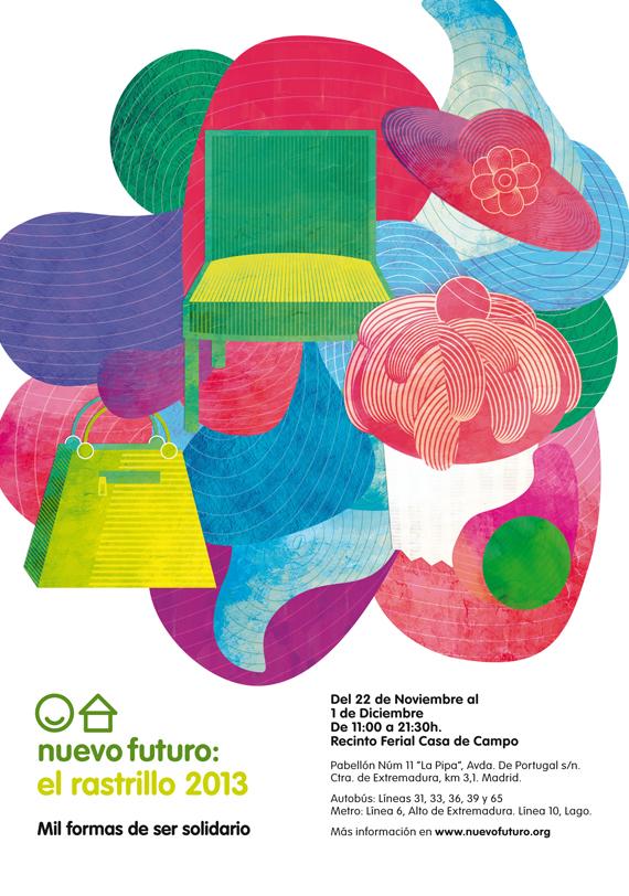 La Fundación Educación Activa en el Rastrillo Nuevo Futuro 2013