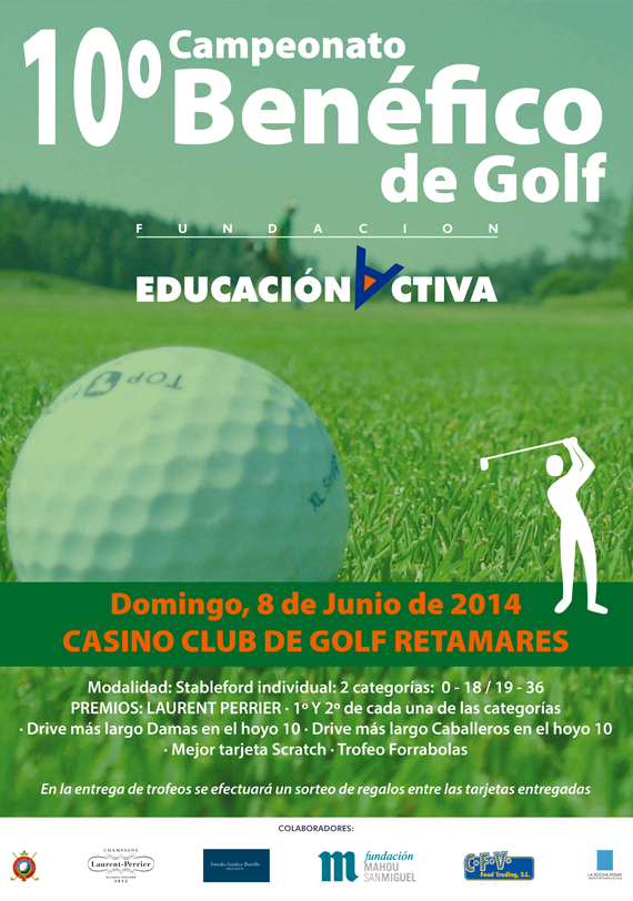 10º Campeonato Benéfico de Golf Fundación Educación Activa