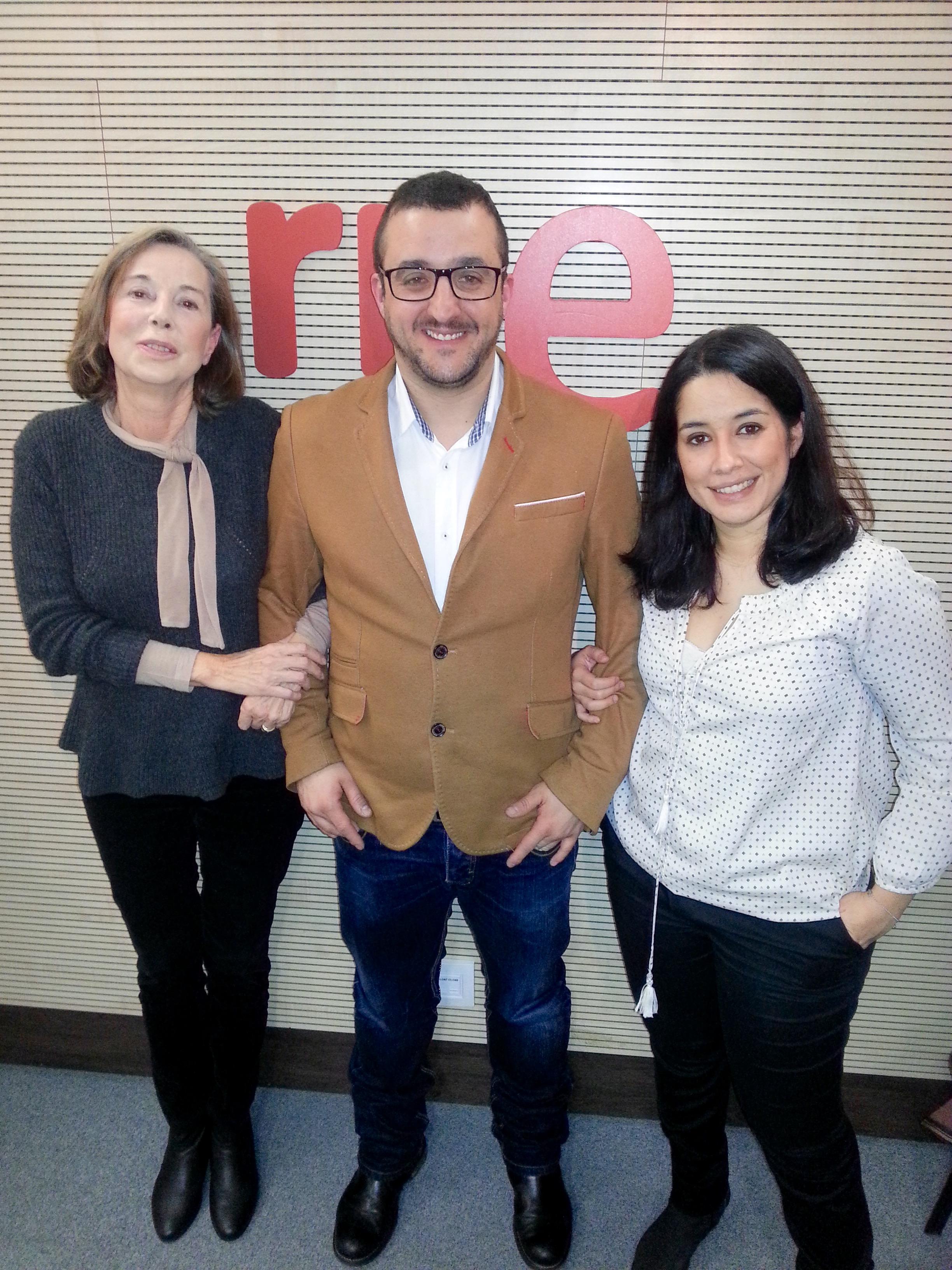 Entrevista a Fátima Guzman en el programa 'El canto del grillo' de RNE
