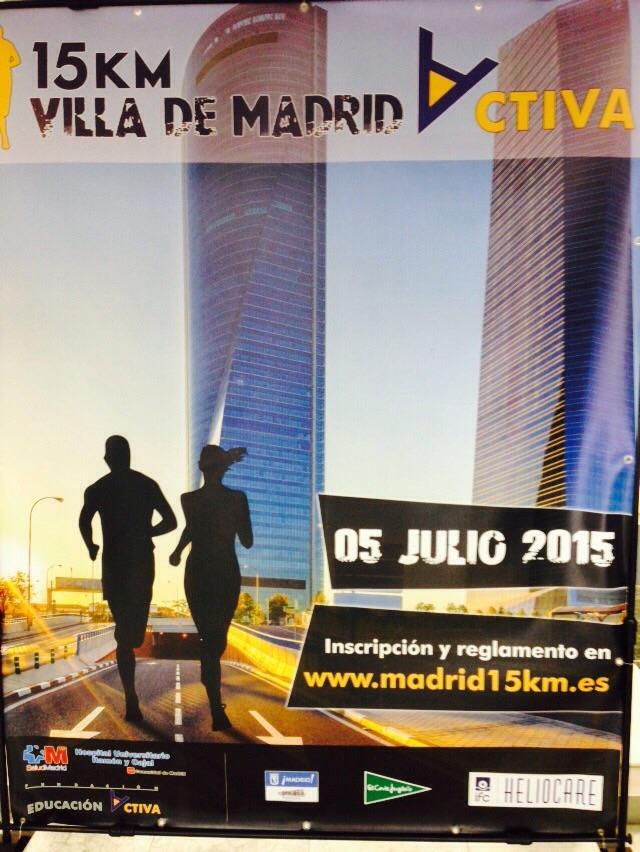 'MetLife 15km Villa de Madrid' en la prensa