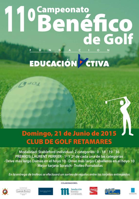 11º Campeonato Benéfico de Golf Fundación Educación Activa