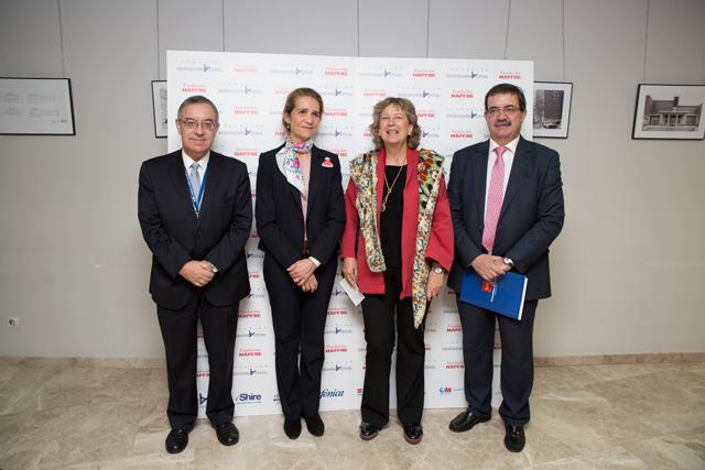 S.A.R. Infanta Doña Elena – Directora de Proyectos de la Fundación MAPFRE – inaugura la XIII Jornada sobre TDAH