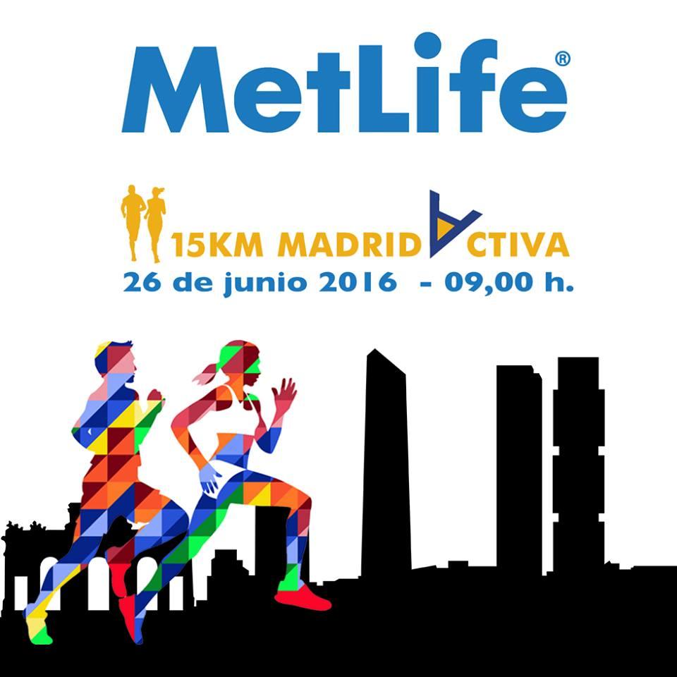 Segunda edición de la carrera popular 'MetLife 15 Km Villa de Madrid'