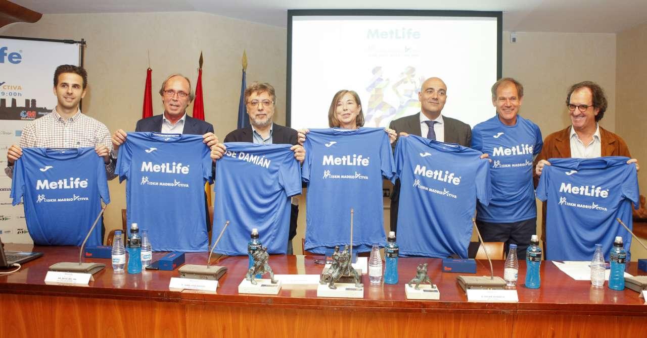 Presentación a prensa II edición de la 15 Km MetLife Madrid Activa