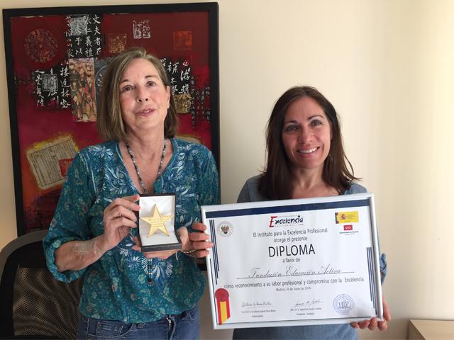 El Instituto para la Excelencia Profesional premia a la Fundación Educación Activa