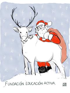 Fundación Educación Activa os desea una Feliz Navidad