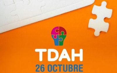 26 de Octubre: Día del TDAH en España. #26OTDAH #encajamosigualquetu